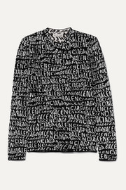 Balenciaga Intarsia-knit sweater