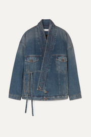 Balenciaga Judo oversized denim jacket