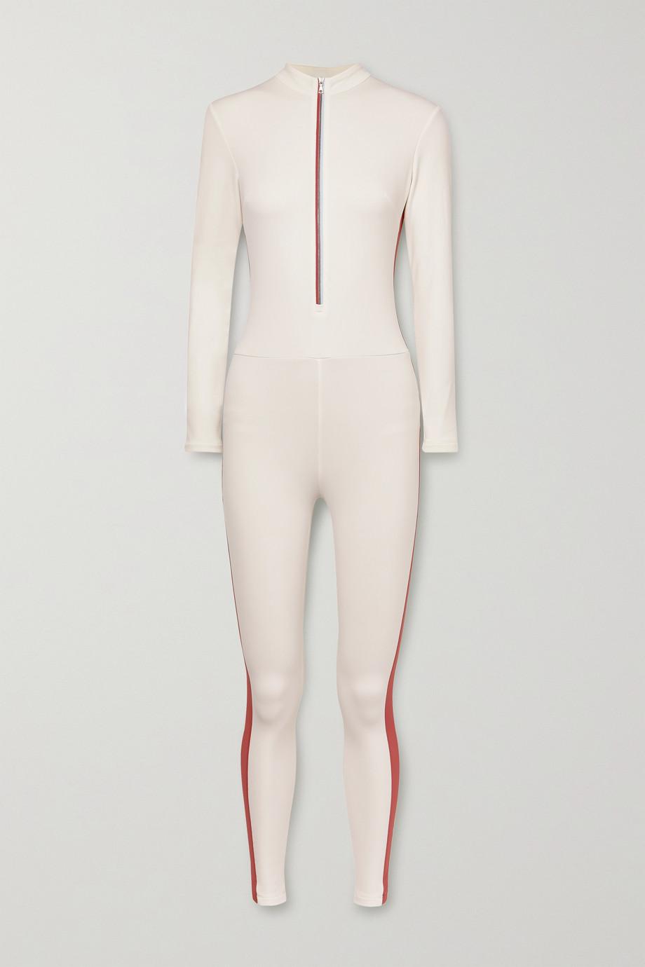 Vaara Selene Thermal striped stretch bodysuit