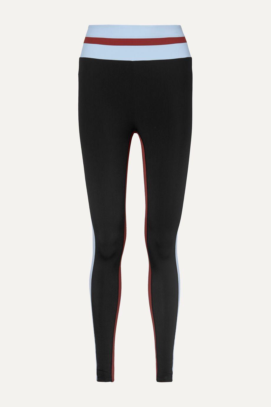 Vaara Faye Thermal Tuxedo Thermoleggings aus Stretch mit Streifen
