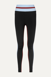 Faye Thermal Tuxedo striped stretch leggings
