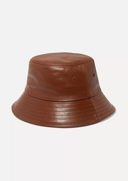 Burberry Leather bucket hat