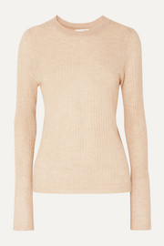 Maura ribbed wool-blend sweater