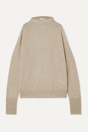 Skin Gillian cold-shoulder cashmere sweater