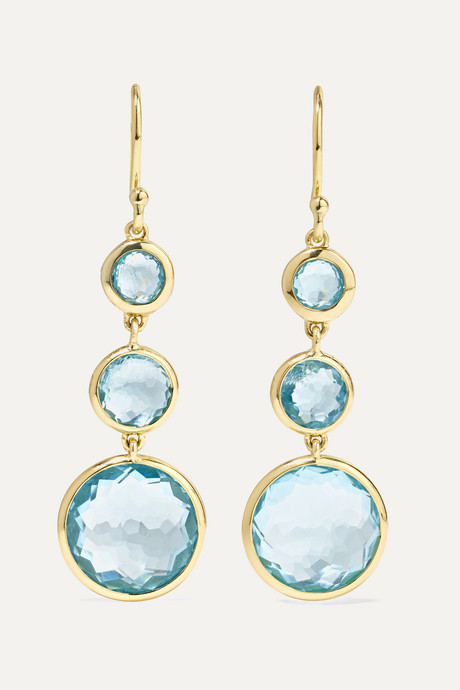 Gold Lollipop 18-karat gold topaz earrings | Ippolita h8LzhS