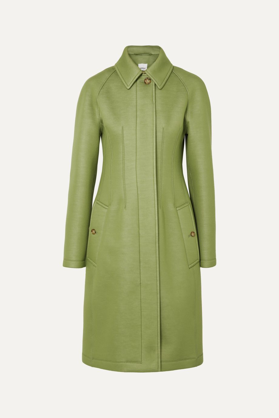Burberry Neoprene coat