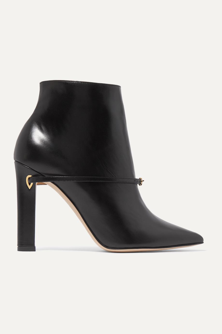 Jennifer Chamandi Nicoló 105 leather ankle boots