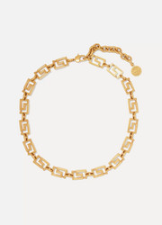 Versace Gold-plated choker