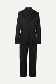 The Range Stretch-cotton twill jumpsuit