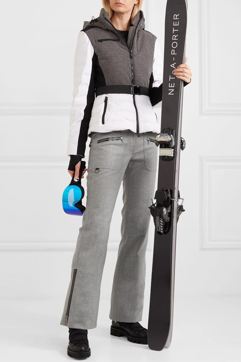 Erin Snow Parker Skihose mit weitem Bein aus Merinowolle