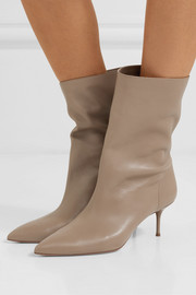 Aquazzura Very Boogie 60 leather ankle boots