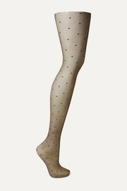 FALKE Dot 15 denier point d'esprit tights