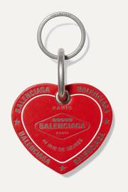 발렌시아가 키체인 Balenciaga Casino printed leather keychain