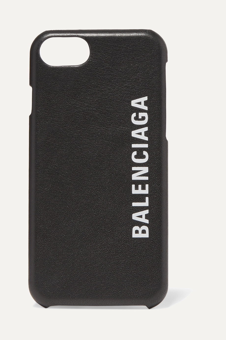 Balenciaga Printed textured-leather iPhone 7 and 8 case