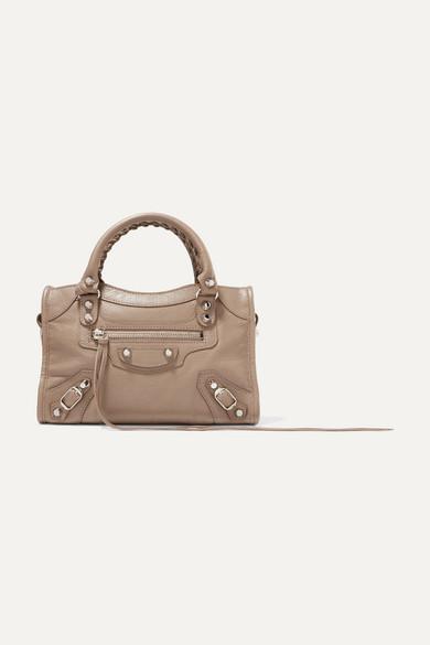 Balenciaga Classic City Aj Textured-Leather Tote