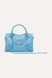 Balenciaga Classic City mini textured-leather tote