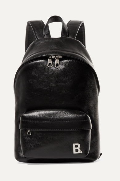 Xxs Leather Backpack by Balenciaga