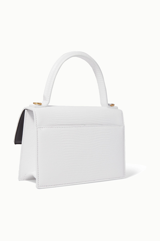 Balenciaga Sharp XS lizard-effect leather shoulder bag