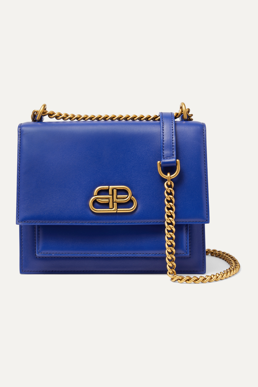 Balenciaga Sharp S leather shoulder bag