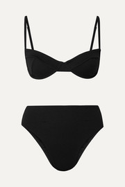 Haight Stretch-crepe underwired bikini