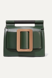 BOYY Romeo buckled leather clutch