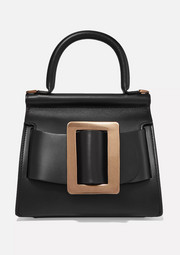 Karl 19 buckled leather tote