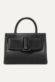 BOYY Bobby mini buckled leather tote