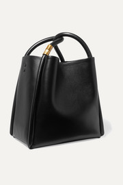 Lotus 28 leather tote