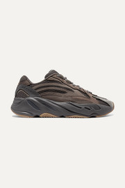 Yeezy Boost 700 V2 suede and mesh sneakers