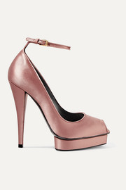 TOM FORD Satin platform pumps