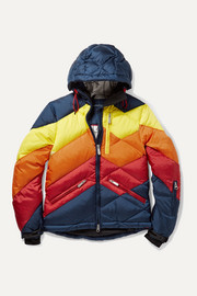 Ages 6 - 12 Superday II striped down ski jacket