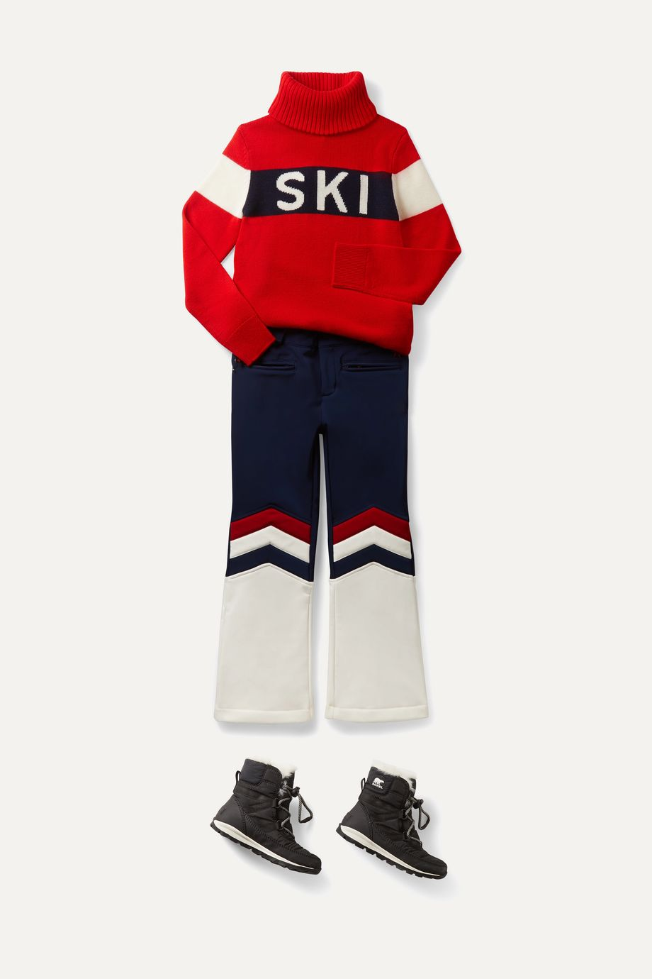 Perfect Moment Kids Ages 6 - 12 Aurora flared ski pants