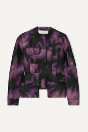 Marques' Almeida Frayed printed brocade jacket