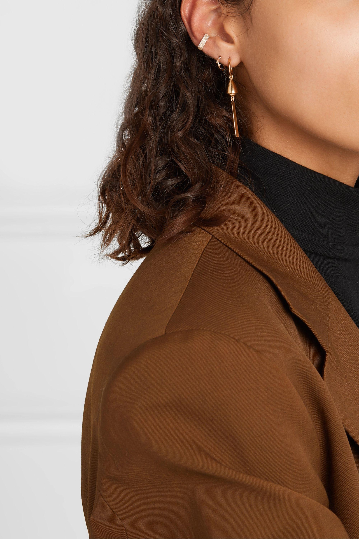 Meadowlark Thea gold-plated earrings