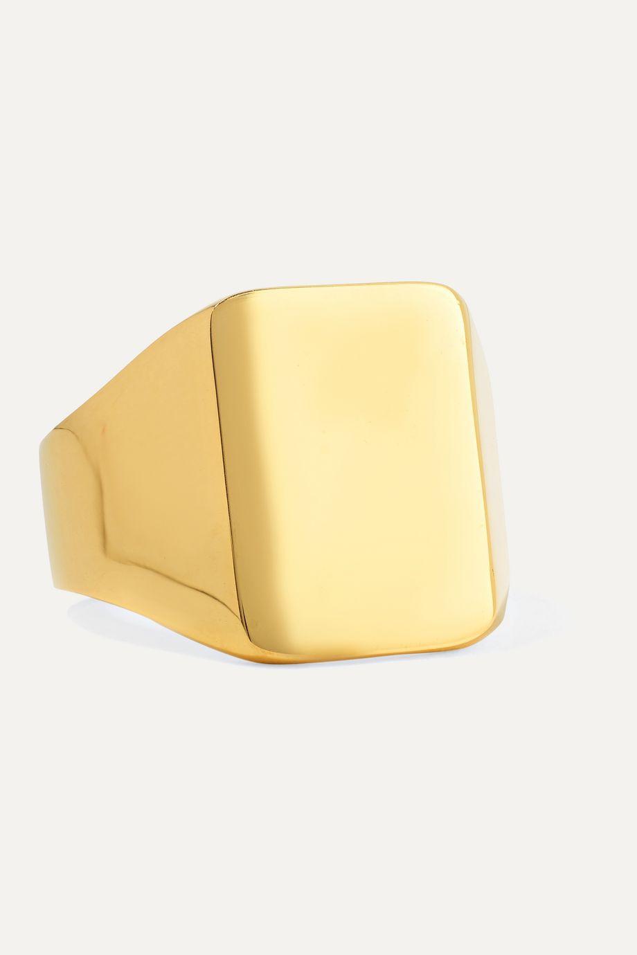 Meadowlark Fairfax gold-plated ring