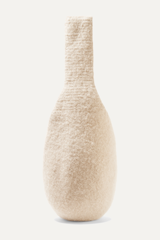 Lauren Manoogian Calabaza cotton, alpaca and wool-blend tote