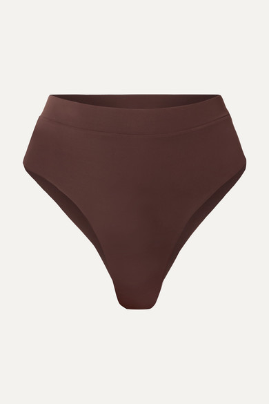 MYRA | Myra - Mase Bikini Briefs - Dark Brown | Goxip
