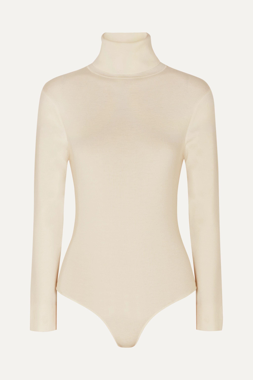 LOULOU STUDIO Galora wool-blend turtleneck bodysuit