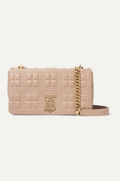 Lola small quilted leather shoulder bag