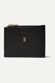 Burberry Textured-leather cardholder