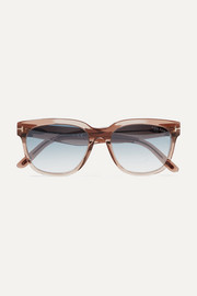 TOM FORD Rhett D-frame acetate sunglasses