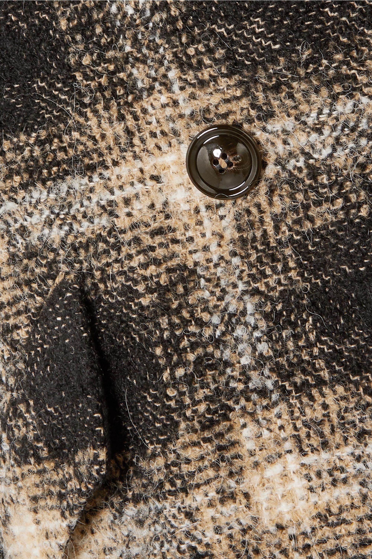 IRO Karsh double-breasted checked bouclé coat
