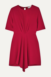 IRO Demeteros draped crepe mini dress