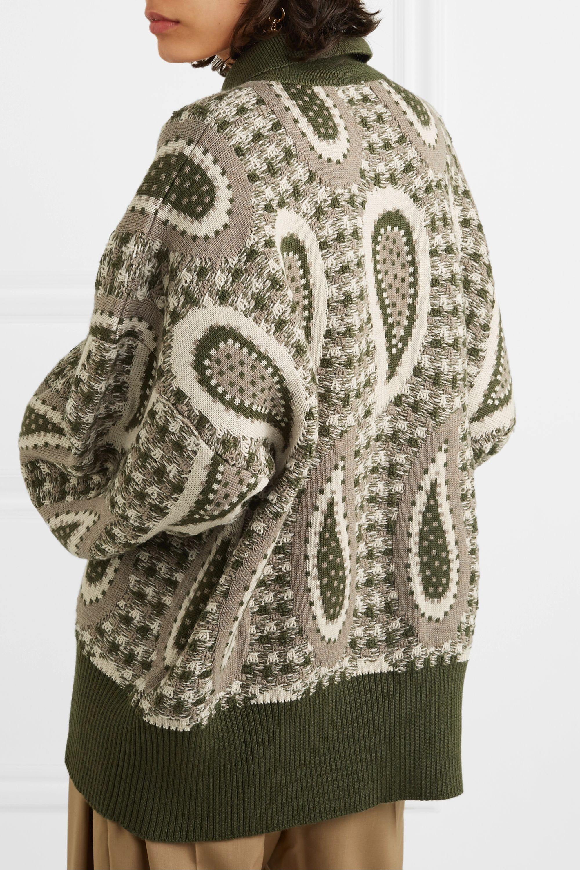 JW Anderson Intarsia wool sweater