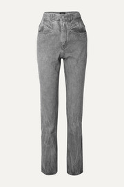 Isabel Marant Dominic high-rise slim-leg jeans