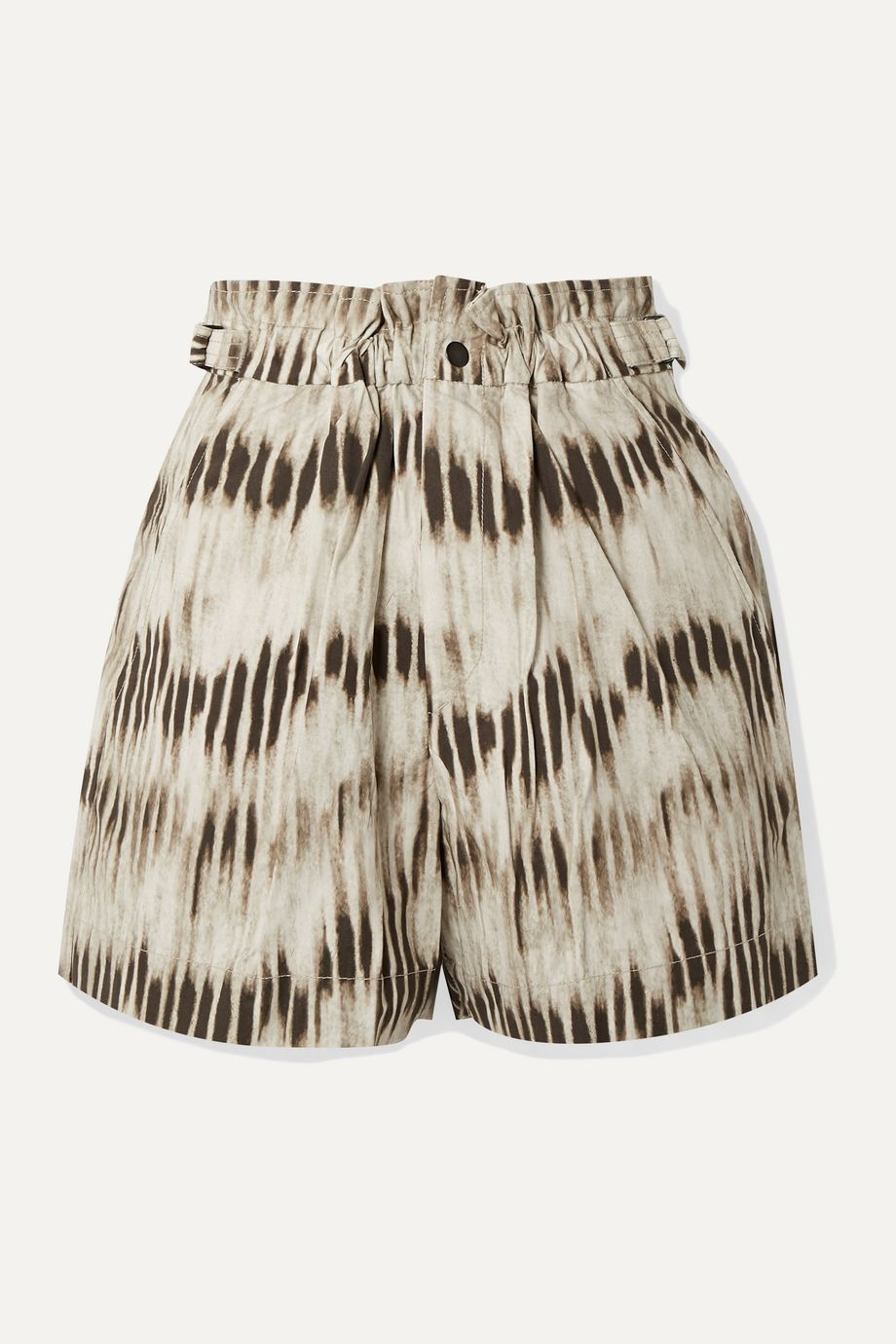 Isabel Marant Ilirya printed denim shorts