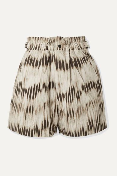 Isabel Marant Shorts Ilirya printed denim shorts