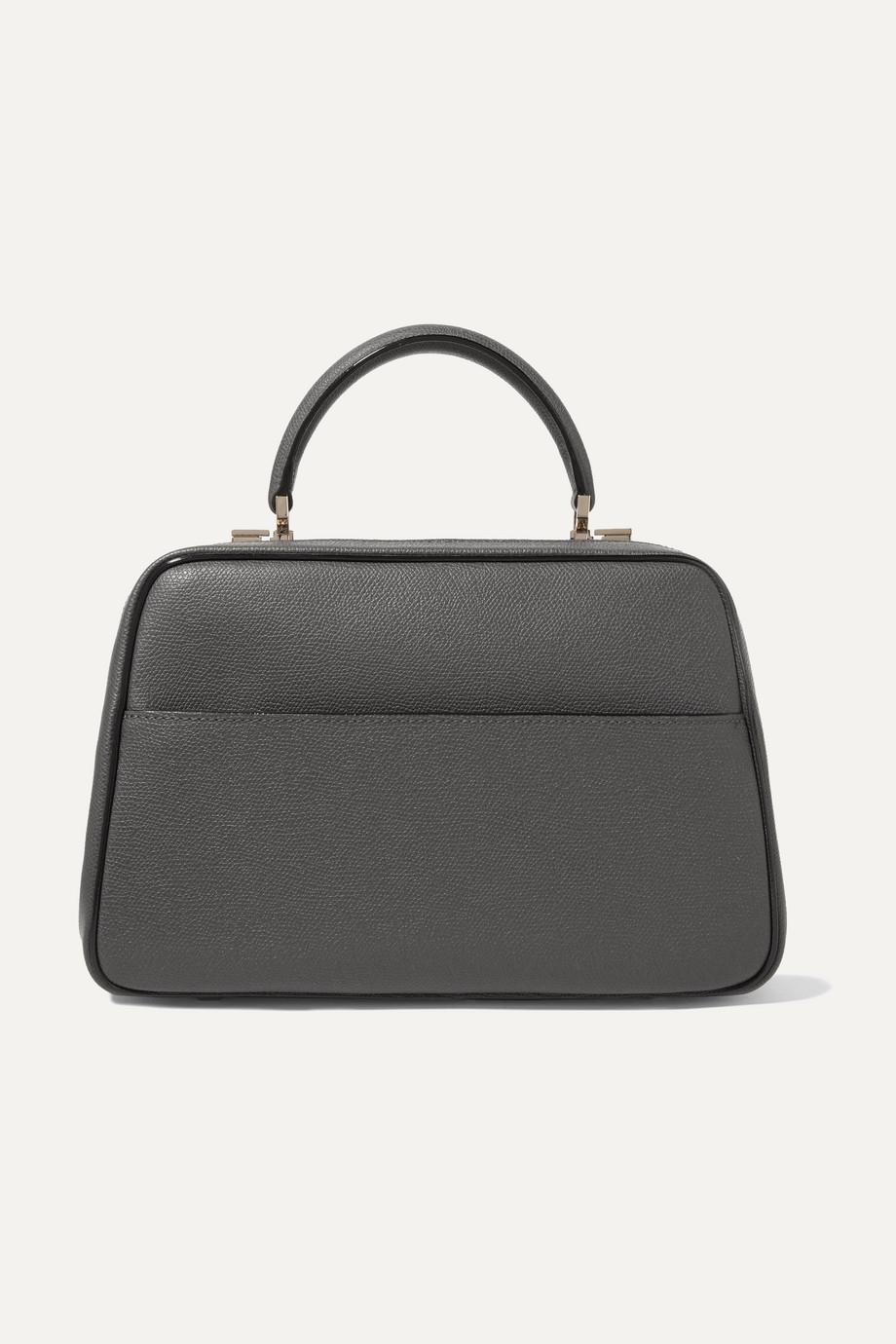 Valextra Serie S medium textured-leather tote
