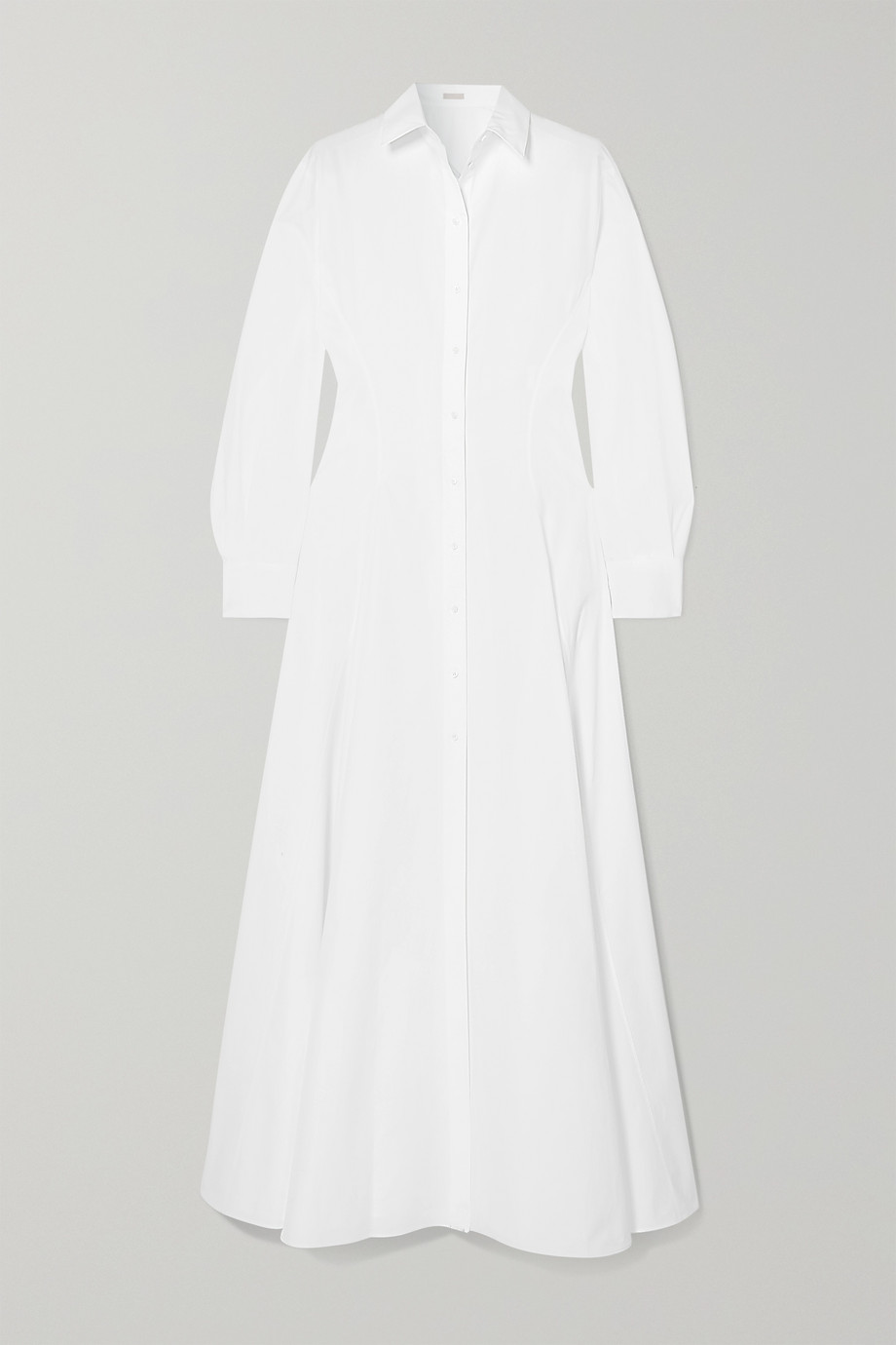 Alaïa Cotton-poplin maxi dress