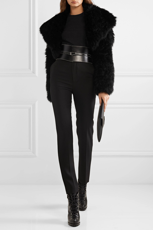 Alaïa Cropped cashmere jacket